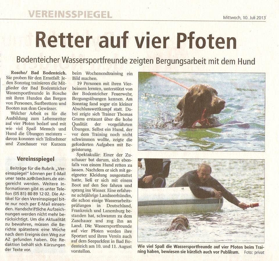Vereinsspiegel10.07.13